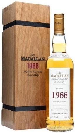 The Macallan Fine & Rare Scotch Single Malt 1988 Cask No. 12202 1988-Wine Chateau