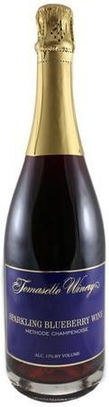 Tomasello Winery Sparkling Blueberry Wine-Wine Chateau