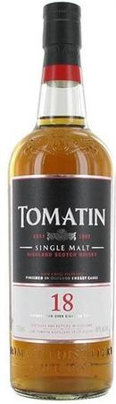 Tomatin Scotch Single Malt 18 Year-Wine Chateau