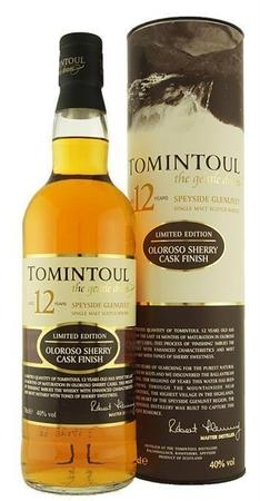 Tomintoul Scotch Single Malt 12 Year Oloroso Cask Finish-Wine Chateau