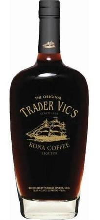 Trader Vic's Liqueur Kona Coffee-Wine Chateau