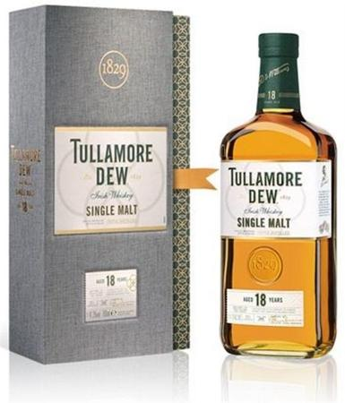 Tullamore Dew Irish Whiskey Single Malt 18 Year-Wine Chateau