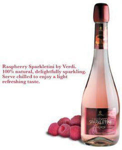 Verdi Raspberry Sparkletini-Wine Chateau