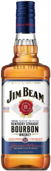 Jim Beam Bourbon New York Mets Edition