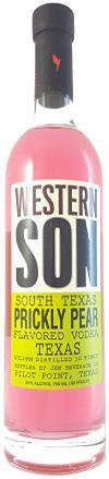 Western Son Vodka South Texas Prickly Pear-Wine Chateau