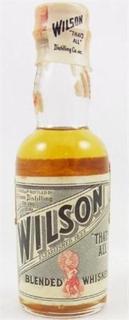 Wilson Whiskey Blend-Wine Chateau