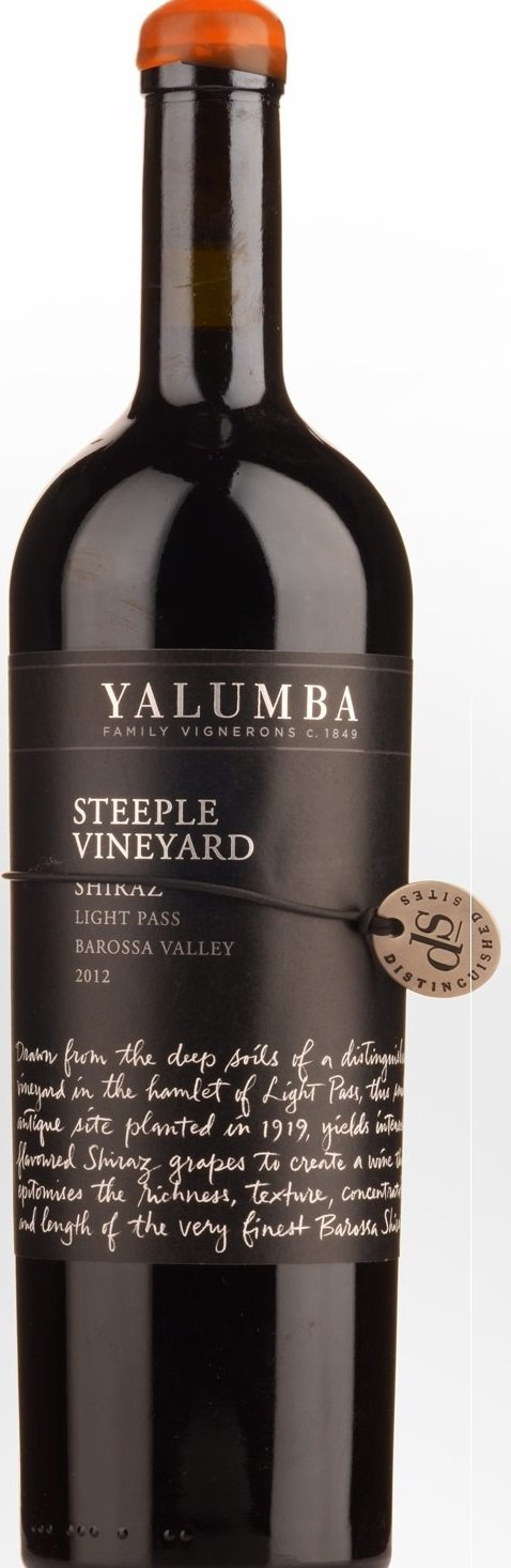 Yalumba Shiraz Steeple Vineyard 2012