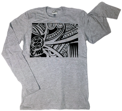 Maori Long Sleeve Tee Shirt