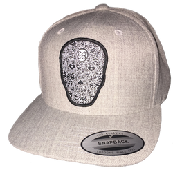 Heart Face Zen Tattoo Snap Back Classic Hat