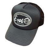 EVOL Industries Branded Retro Foam Trucker Hat