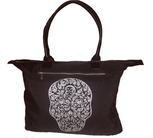 Heart Face Nylon Tote Bag