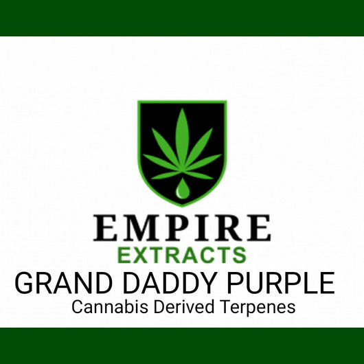 1.0ml GRAND DADDY PURPLE Terpenes