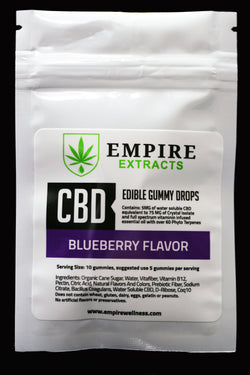 BLUEBERRY FLAVOR GUMMIES