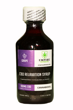100mg CBD RELAXATION SYRUP (Grape)