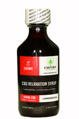 100mg CBD RELAXATION SYRUP (CHERRY)