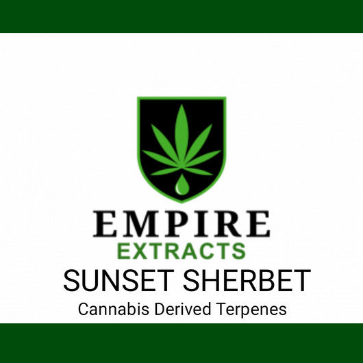 1ml SUNSET SHERBERT Terpenes
