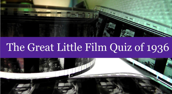 The Great Little Film Quiz of 1936