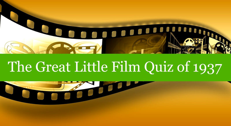 The Great Little Film Quiz of 1937