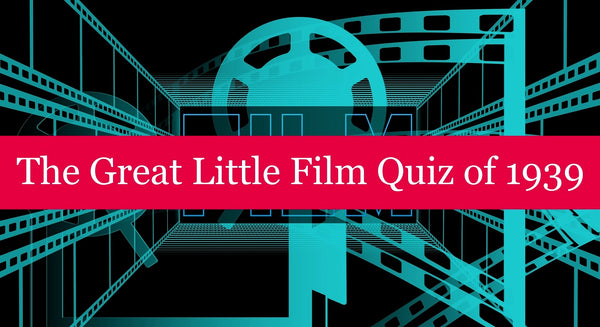 The Great Little Film Quiz of 1939