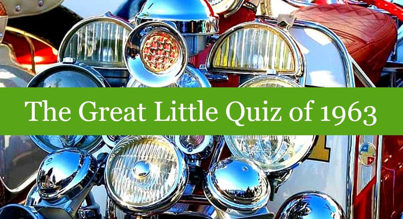 The Great Little Quiz of 1963