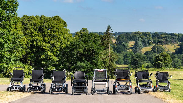 What types of wheelchairs are available?