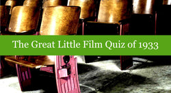 The Great Little Film Quiz of 1933