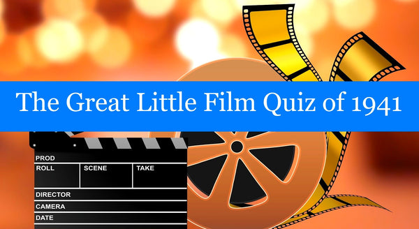 The Great Little Film Quiz of 1941