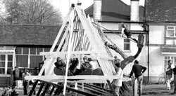 Playground Memories: The Witch's Hat and the Swing Boats