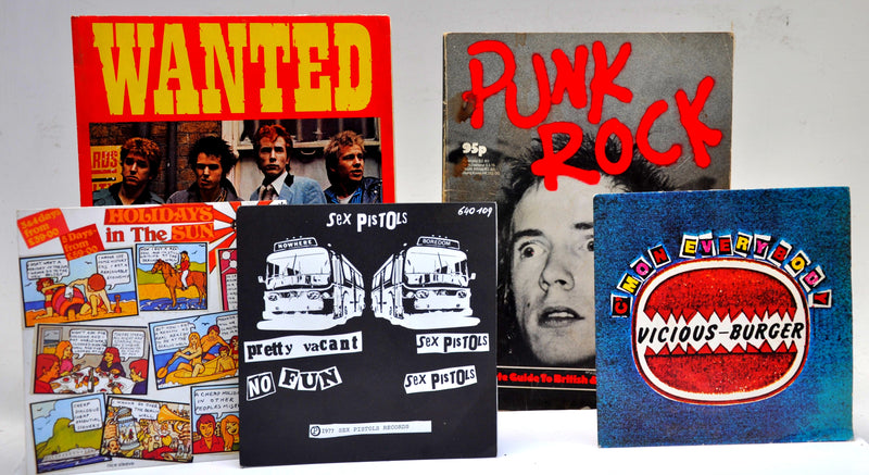 Punk Rock' the Original Filth and The Fury.