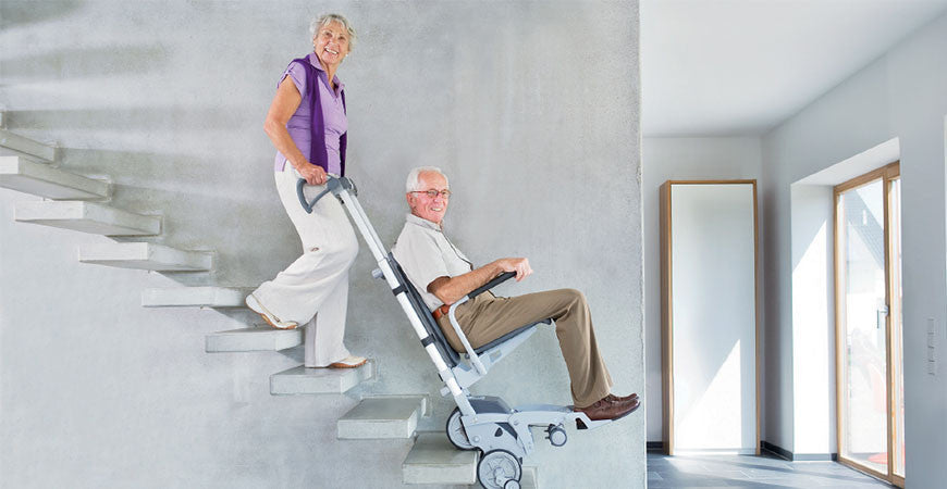 Integral Seat Stair Climber