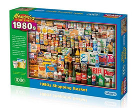 1980s Shopping Basket 1000pc Puzzle