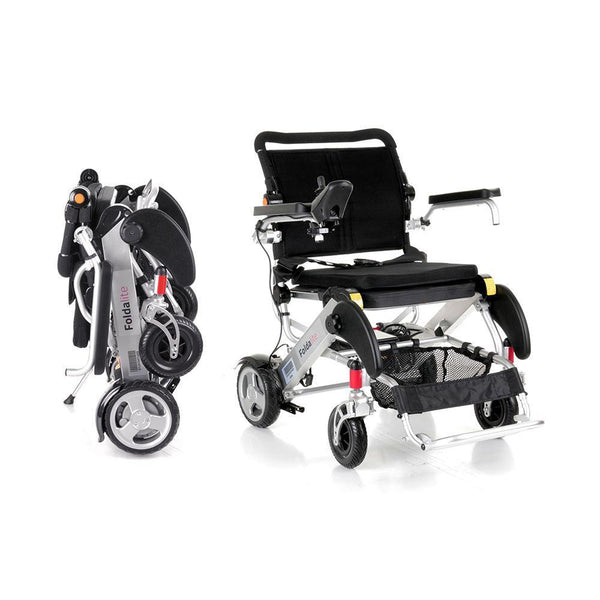 Buy Foldalite Electric Wheelchair At Spring Chicken