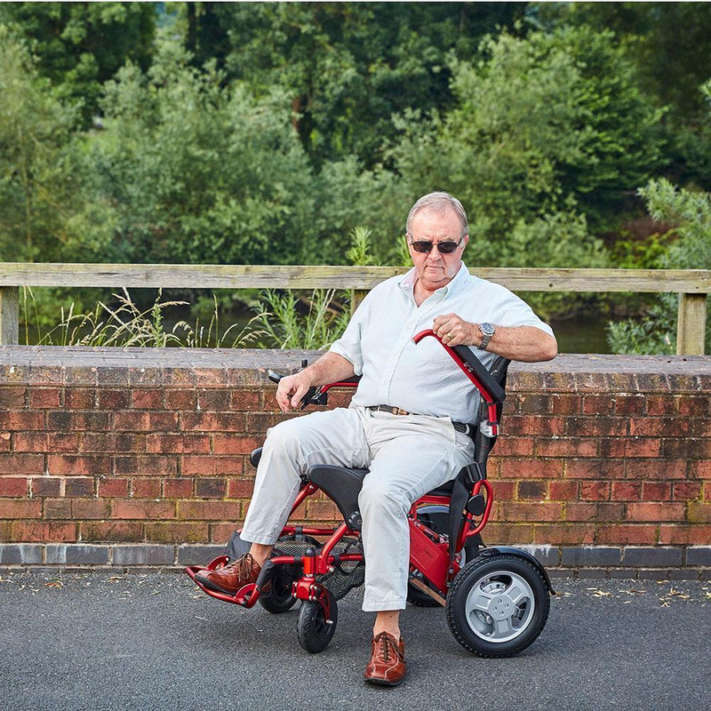 Foldalite Trekker Electric Wheelchair