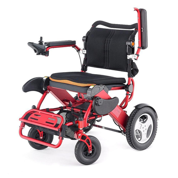 Buy Foldalite Trekker Electric Wheelchair At Spring Chicken
