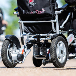 A08L Freedom Electric Folding Wheelchair | Spring Chicken