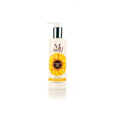 My Trusty Sunflower Body Lotion | Spring Chicken