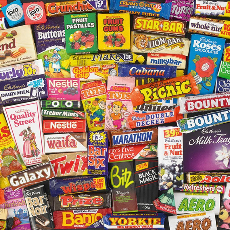 1980s Sweet Memories 1000pc Puzzle