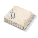 Monogram Komfort Fully Fitted Fleecy Heated Blanket/matress cover