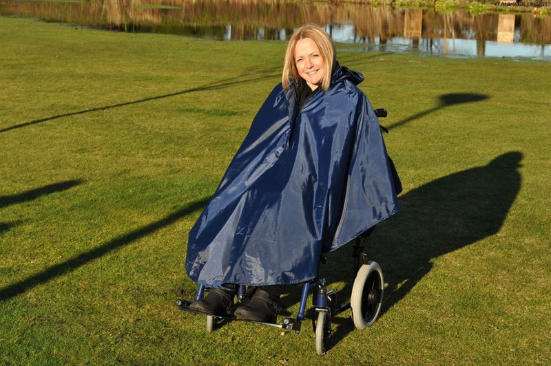 Manual Wheelchair Lined Poncho - VAT Relief