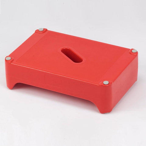 Dual Height Red Bath Step