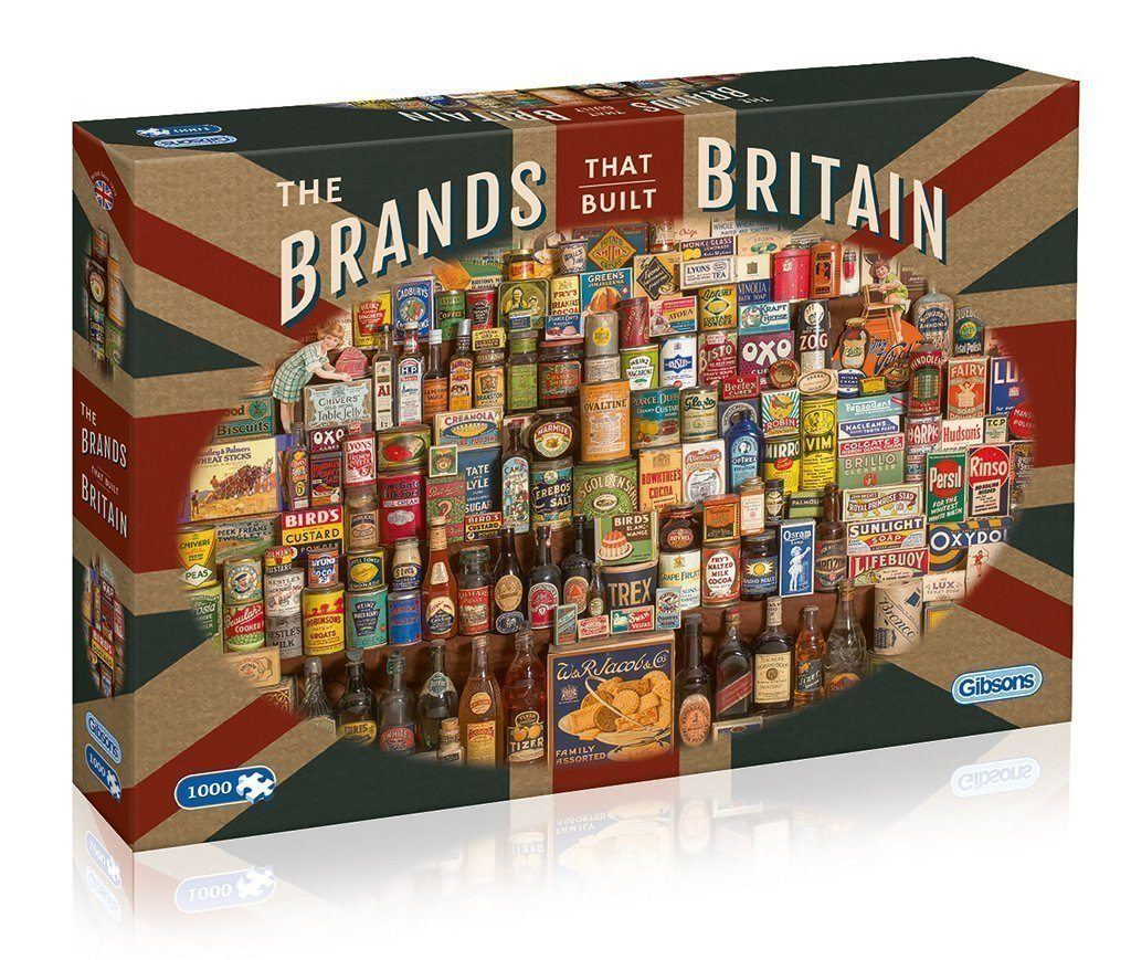 Brands that Built Britain 1000pc Puzzle