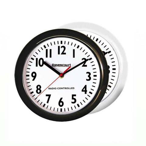 Easy to See Radio Controlled Wall Clock | Spring Chicken