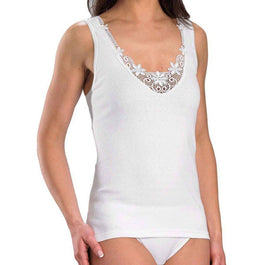 Camisole With Embroidered Motif