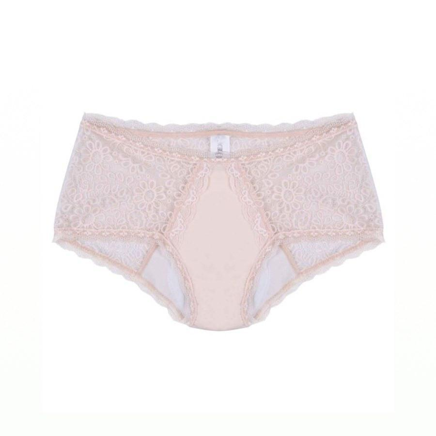 Women's Incontinence Lace Boy Leg Knickers | Spring Chicken