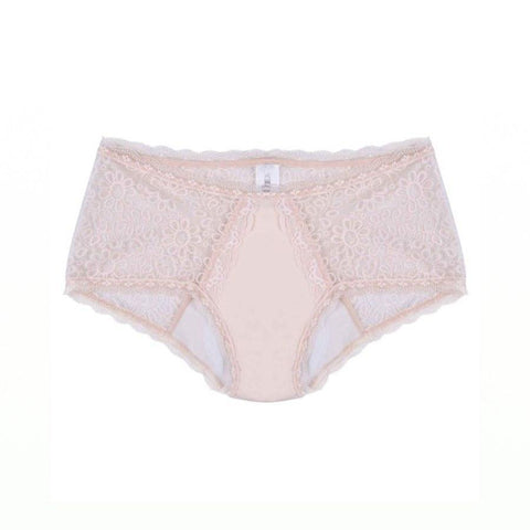 Women's Incontinence Lace Boy Leg Knickers