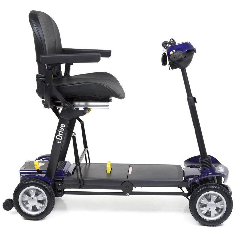 eDrive Folding Mobility Scooter - Purple