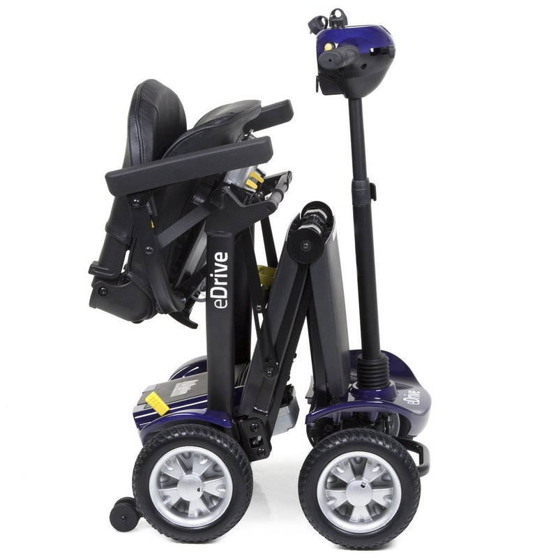 eDrive Folding Mobility Scooter - Purple - VAT Relief