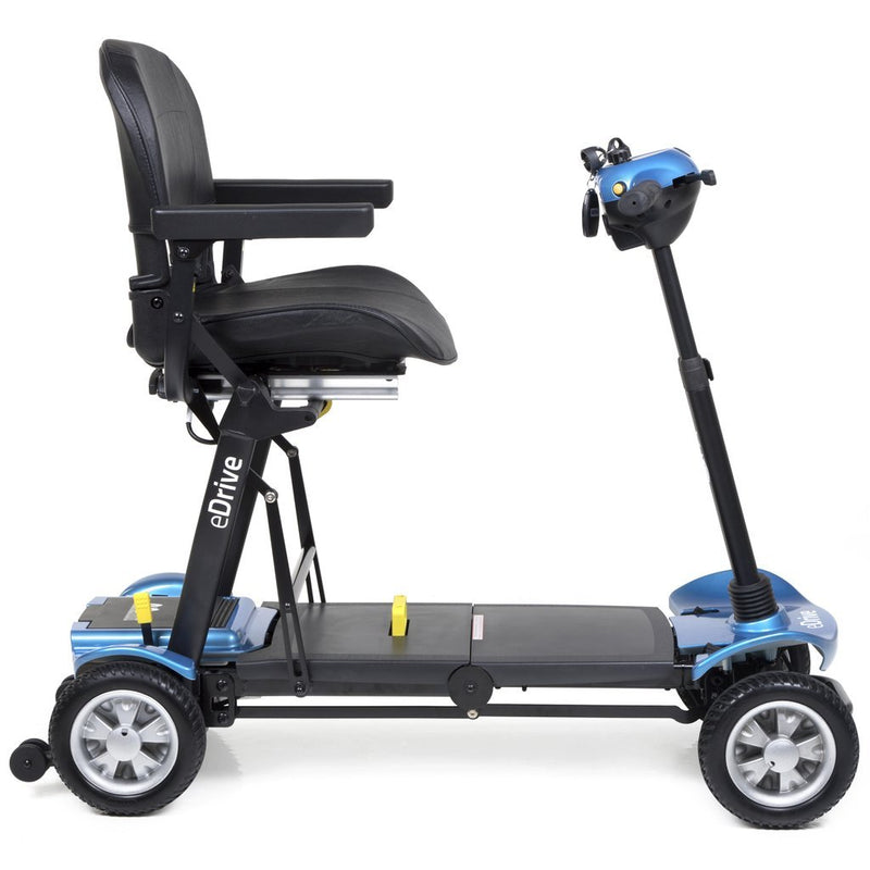 eDrive Folding Mobility Scooter - Blue