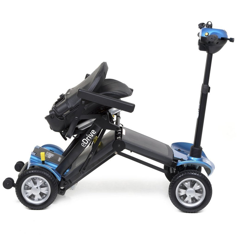 eDrive Folding Mobility Scooter - Blue - VAT Relief