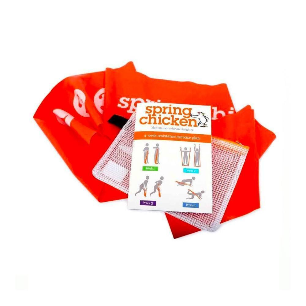 Spring Chicken Exercise Band Pack